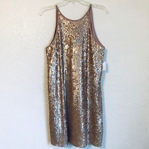 FOREVER 21 Sequin Party DRESS L NWT